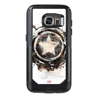 Captain America Grunge Shield OtterBox Samsung Galaxy S7 Case