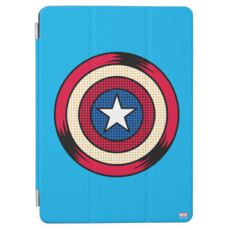 Captain America Halftone Shield iPad Air Cover