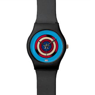 Captain America Halftone Shield Watch