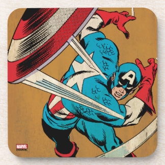 Captain America-He Took On All Of Them Coaster
