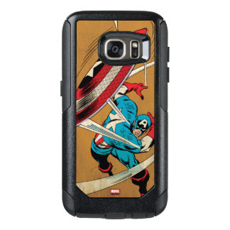 Captain America-He Took On All Of Them OtterBox Samsung Galaxy S7 Case