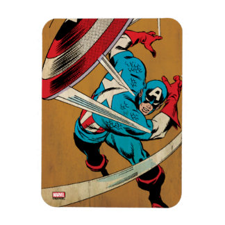 Captain America-He Took On All Of Them Rectangular Photo Magnet