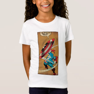 Captain America-He Took On All Of Them T-Shirt