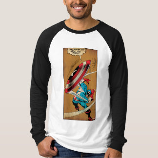 Captain America-He Took On All Of Them Tee Shirts