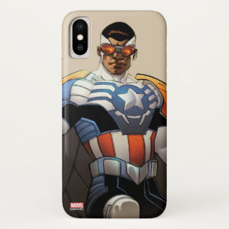 Captain America In Flight Case-Mate iPhone Case