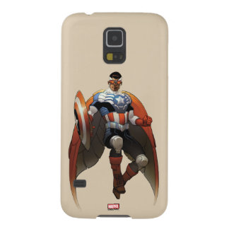 Captain America In Flight Galaxy S5 Cover