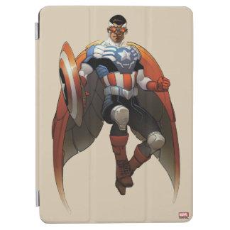 Captain America In Flight iPad Air Cover