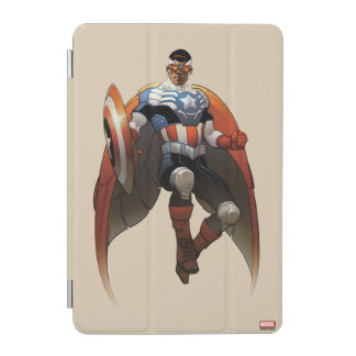 Captain America In Flight iPad Mini Cover