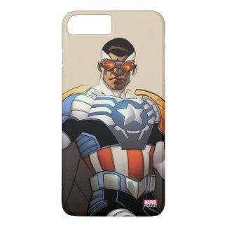 Captain America In Flight iPhone 8 Plus/7 Plus Case