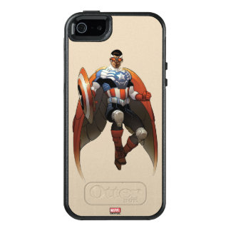 Captain America In Flight OtterBox iPhone 5/5s/SE Case