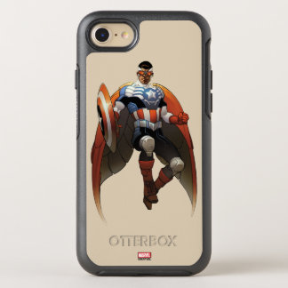 Captain America In Flight OtterBox Symmetry iPhone 8/7 Case