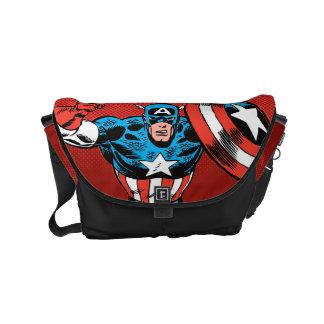 Captain America Jump Commuter Bag