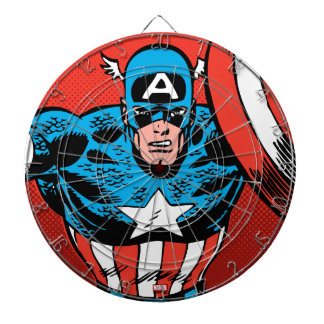 Captain America Jump Dartboard