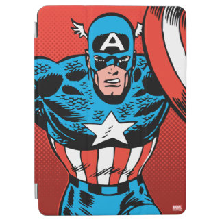 Captain America Jump iPad Air Cover