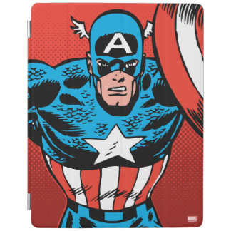 Captain America Jump iPad Cover