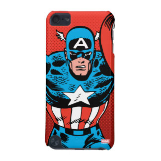 Captain America Jump iPod Touch 5G Cover