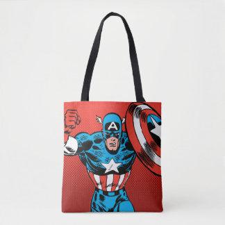 Captain America Jump Tote Bag