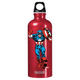 Captain America Jump Water Bottle