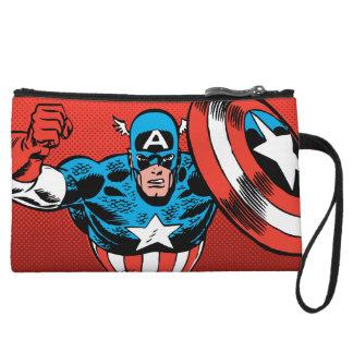 Captain America Jump Wristlet