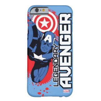 Captain America Legendary Avenger Barely There iPhone 6 Case