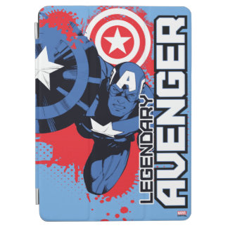 Captain America Legendary Avenger iPad Air Cover