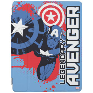 Captain America Legendary Avenger iPad Cover