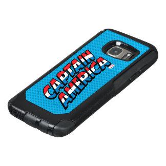 Captain America Name Logo OtterBox Samsung Galaxy S7 Case