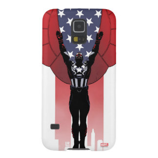 Captain America Patriotic City Graphic Case For Galaxy S5