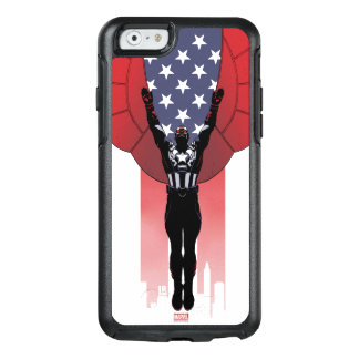 Captain America Patriotic City Graphic OtterBox iPhone 6/6s Case