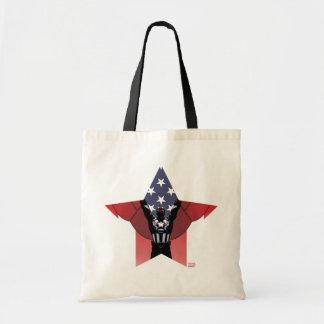 Captain America Patriotic City Graphic Tote Bag