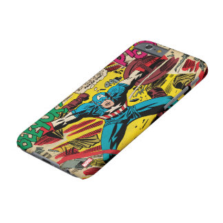 Captain America-Phase One Barely There iPhone 6 Case