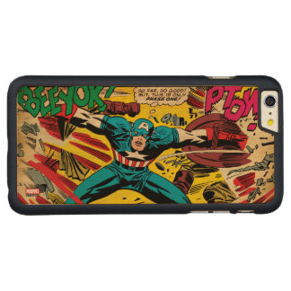Captain America-Phase One Carved® Maple iPhone 6 Plus Case