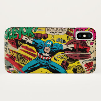 Captain America-Phase One iPhone X Case