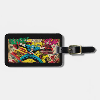 Captain America-Phase One Luggage Tag