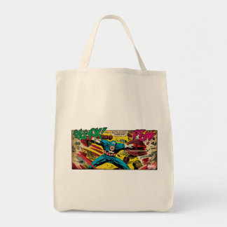 Captain America-Phase One Tote Bag