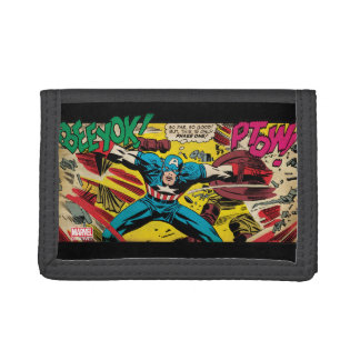 Captain America-Phase One Trifold Wallet