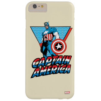 Captain America Retro Character Graphic Barely There iPhone 6 Plus Case