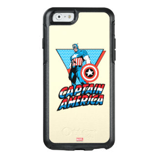 Captain America Retro Character Graphic OtterBox iPhone 6/6s Case