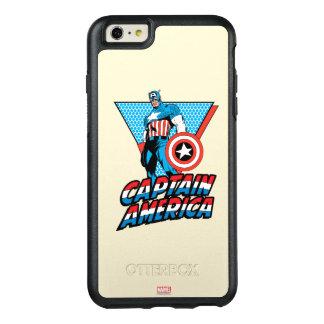 Captain America Retro Character Graphic OtterBox iPhone 6/6s Plus Case
