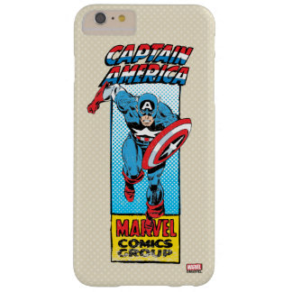 Captain America Retro Comic Character Barely There iPhone 6 Plus Case