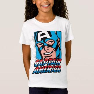 Captain America Retro Comic Icon T-Shirt