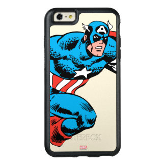 Captain America Retro OtterBox iPhone 6/6s Plus Case
