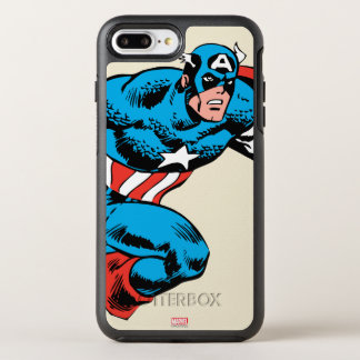 Captain America Retro OtterBox Symmetry iPhone 7 Plus Case