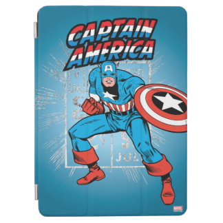 Captain America Retro Price Graphic iPad Air Cover