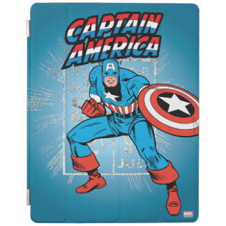 Captain America Retro Price Graphic iPad Cover