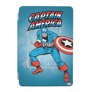 Captain America Retro Price Graphic iPad Mini Cover