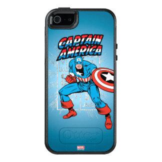 Captain America Retro Price Graphic OtterBox iPhone 5/5s/SE Case