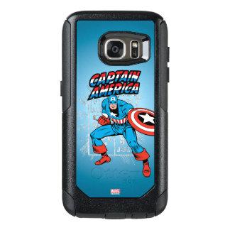 Captain America Retro Price Graphic OtterBox Samsung Galaxy S7 Case