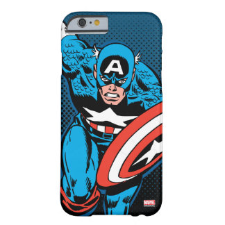 Captain America Run Barely There iPhone 6 Case