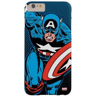 Captain America Run Barely There iPhone 6 Plus Case